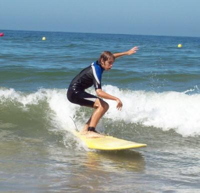 El surf como deporte
